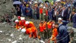 More than 140 people missing in China landslide